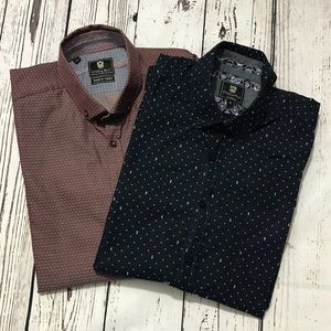 Steel & Jelly - Lot of 2 Button Down (M)